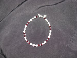 January Birthstone Bracelet