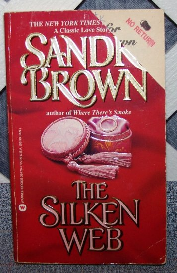 Silken Web by Sandra Brown FREE Shipping to US