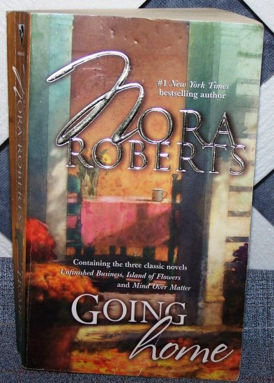 Going Home by Nora Roberts FREE Shipping to US
