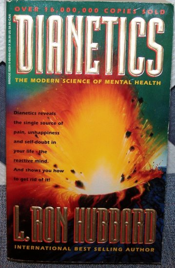 Dianetics by L. Ron Hubbard FREE Shipping to US