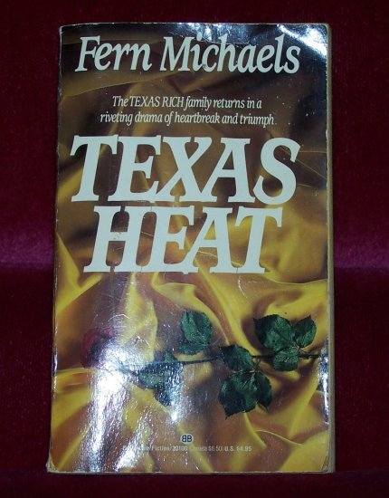 Texas Heat by Fern Michaels (1994) FREE Shipping to US