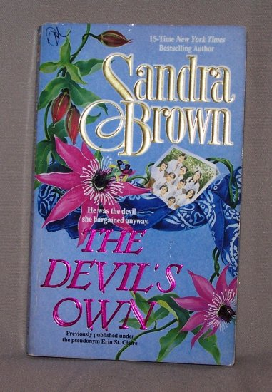 The Devils Own by Sandra Brown FREE Shipping to US