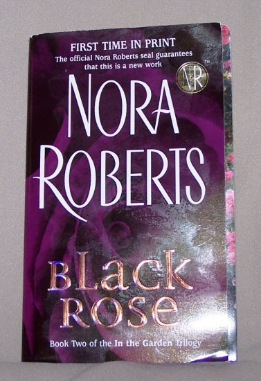 Black Rose by Nora Roberts FREE Shipping to US