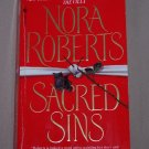 Sacred Sins by Nora Roberts FREE Shipping to US