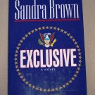 Exclusive by Sandra Brown HB/DJ