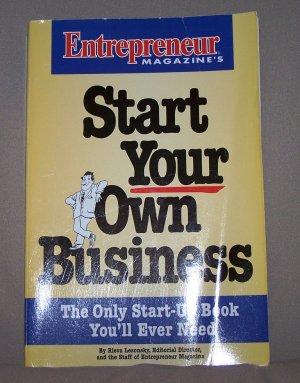 Start Your Own Business by Entrepreneur Magazine HB/DJ