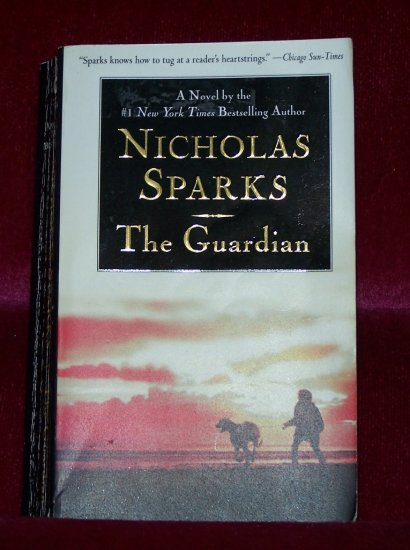 The Guardian By Nicholas Sparks FREE Shipping to US
