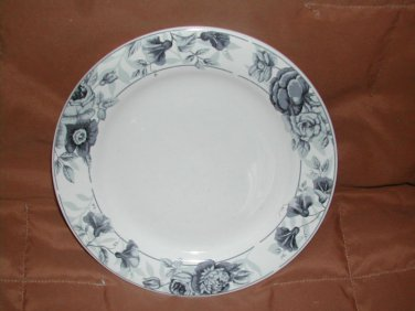 Majesticware Oneida Salad Plate Rose Song Pattern 7-1/2""