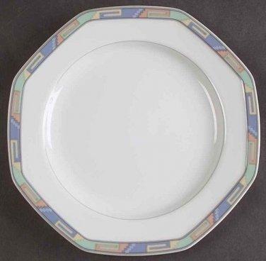 """Christopher Stuart Southwest Pattern Salad Plate 8"""" Excellent Condition"""