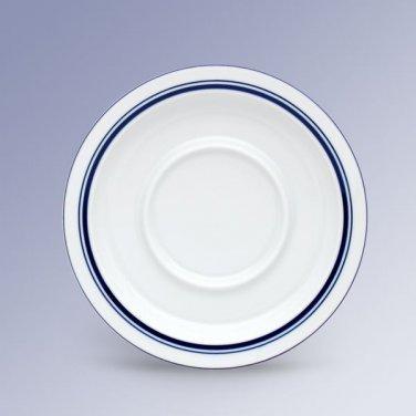 Dansk Christianshaven Blue Bistro Saucer Porcelain Made in Portugal