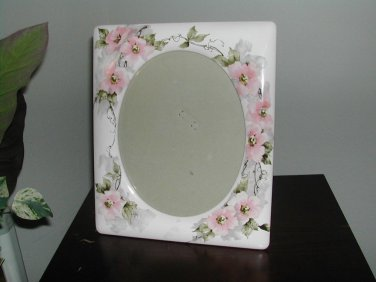 Terragraphics  CERAMIC PHOTO FRAME Home Decor Cottage Use Portrait or Landscape