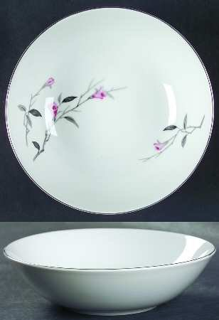 Cherry Blossom Coupe Cereal/Soup Bowl #1067 Fine China Of Japan