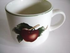 The Cades Cove Collection Coffee or Tea Cup By Citation Apple And Blossoms