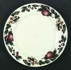 """The Cades Cove Collection 10.5 """" Dinner Plate By Citation Apple And Blossoms"""