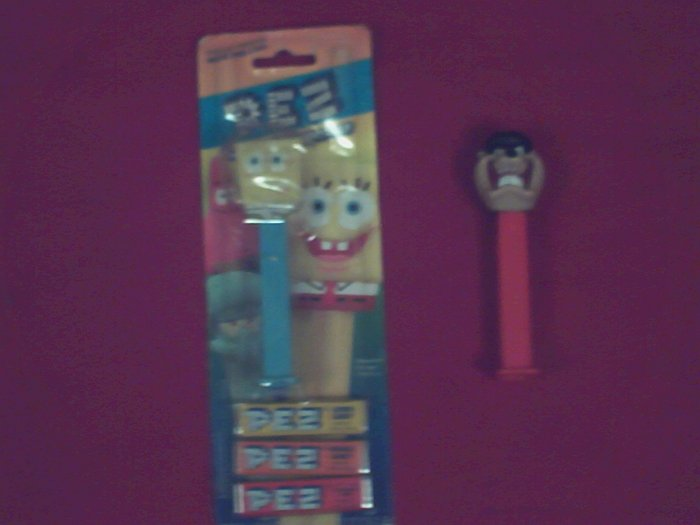2 Pez Dispensers