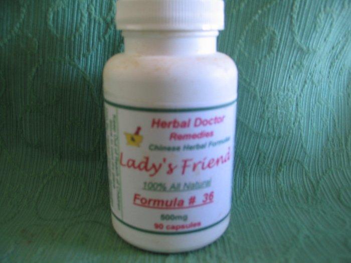 Lady's Friend # 36 90 Caps