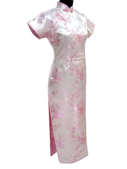 Pink Clubs Chinese Dress Cheong-sam/Qipao