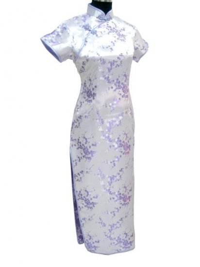 Purple Clubs Chinese Dress Cheong-sam/Qipao