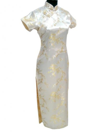 Yellow Clubs Chinese Dress Cheong-sam/Qipao