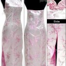 Pink  Vogue Chinese Dress Backless Gown[CDL-05PK]