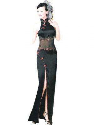 Chinese Customer Made Embroider Tradition Evening Dress [CDC-03]