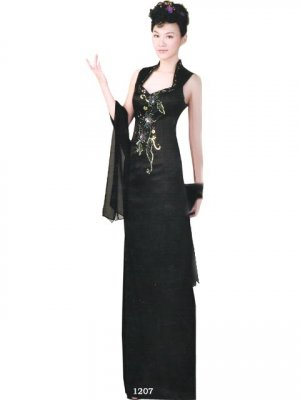 Tradition Customer Made Embroider Chinese Evening Dress [CDC-11]