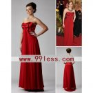 The 81st Oscar Amy Adams Column Sweetheart Evening Dress