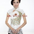 Women's Gold Phoenix Lace Chinese Suit