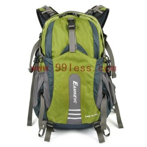 Double Zip Travelling Backpack- Olive