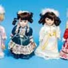 "8""-9"" Angel Porcelain Dolls Special ""LIMITED"""