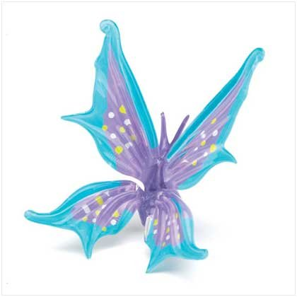 GLASS KEEPSAKE BUTTERFLY