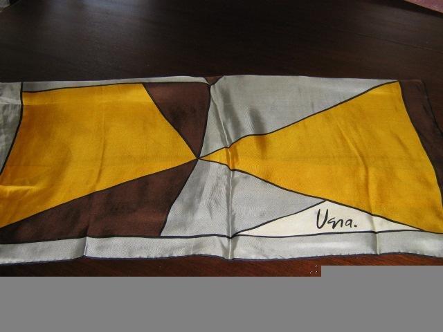 Vintage 70s Vera Scarf unique Design & Bonus Free Scarf