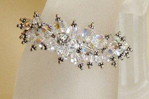 Crystal Caterpillar Bracelet
