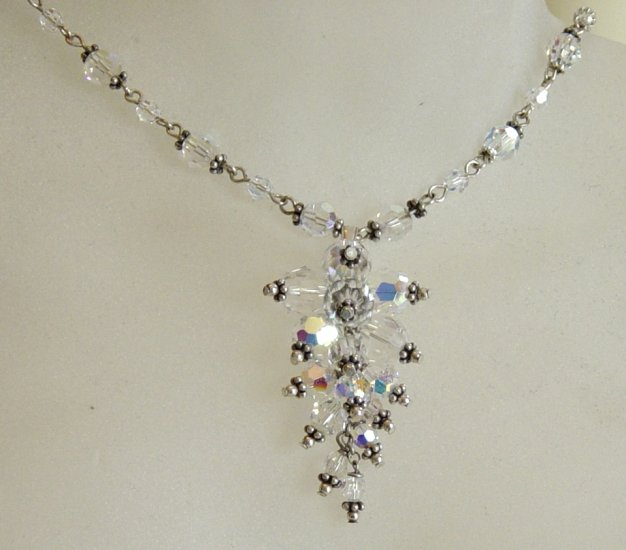 Crystal Caterpillar Necklace