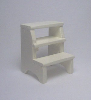 Step Stool--Off White