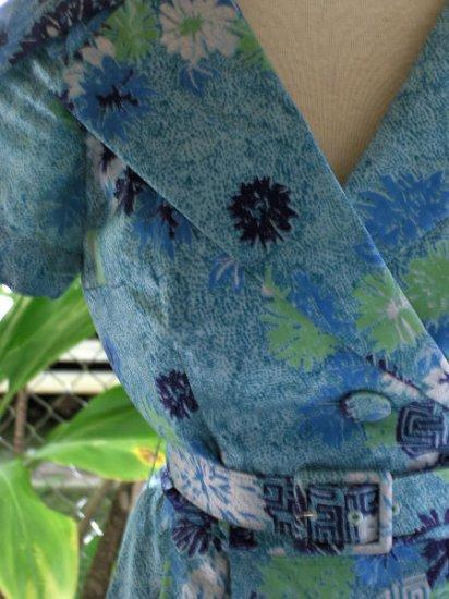 1950s Vintage hawaiian dress Alfred Shaheen