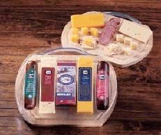 Heart of Wisconsin Meat & Cheese Board Basket