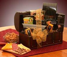 Gourmet Connoisseur Gift Chest Basket