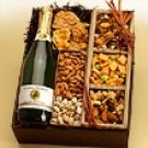 Refresher Course nuts & cider basket