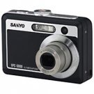 SANYO CAMERA, XACTI, VPC-S600, 6MP, 3X OPT, (ecf)