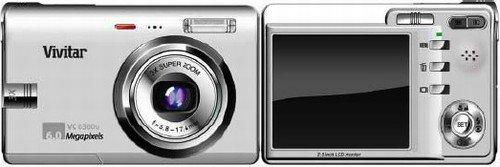 Vivitar 6380u 6.0 Mega Pixel Digital Camera, (ecf)