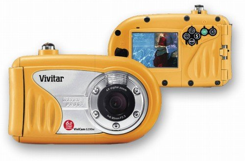 Vivitar 6200W 6 Mega Pixel Waterproof Digital Camera, (ecf)