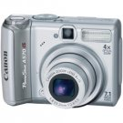 Canon Powershot A570 IS Digital Camera, 7.1 Megapixels, 4x Optical Zoom, 4x Digital Zoom, (ecf)