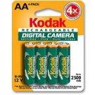 KODAK Ni-MH Rechargeable Digital Camera Batteries AA