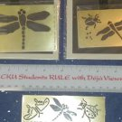 Embossing Templates - summer Bugs - set of 3