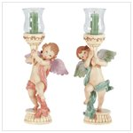 33225 Angelic Candlestick Holders