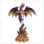 34215 Multicolored Metallic Dragon & Sword