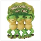 35633 Welcome To My Pad Frogs