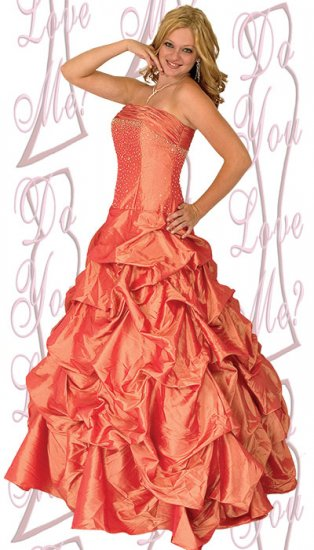 Prom Dress - PLUS Size (DYLM 1776)