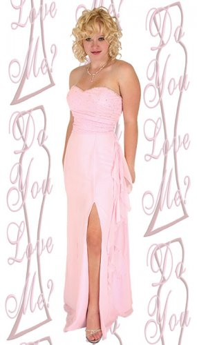 Prom Dress  - PLUS Size (DYLM-1763)